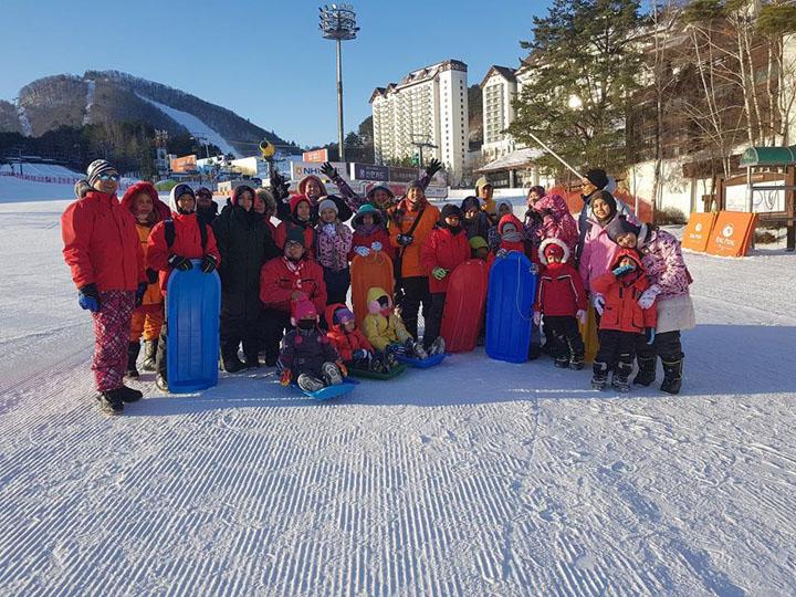 Pakej Percutian Korea Musim Sejuk