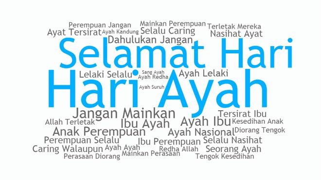 Kumpulan Kata Kata Dan Gambar Ucapan Hari Ayah Nasional 12 November