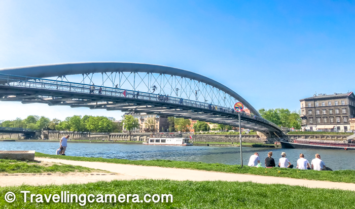 If you are in Krakow city or planning to visit this beautiful city in Poland, we highly recommend to take a stroll around Vistula River and it's Boulevards.