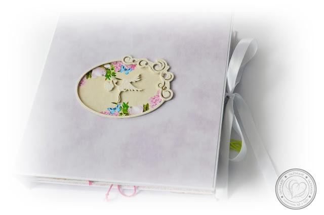 Przepiękny album ciążowy dopracowany w każdym szczególe