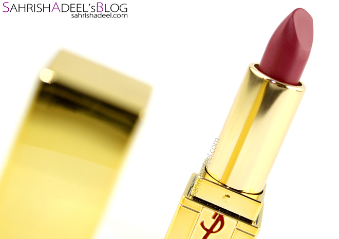 YSL Rouge Pur Couture Lipstick - Review & Swatch