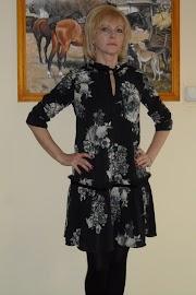 Marcowa sukienka :)