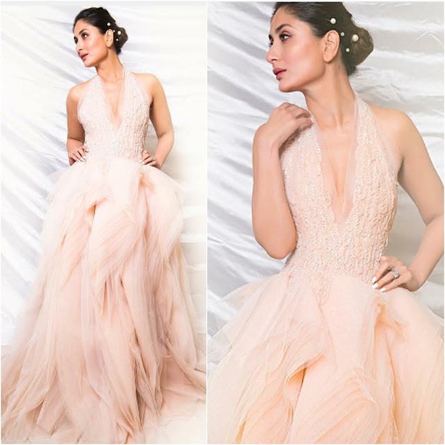 Kareena Kapoor in Rami Al Ali for Lux Golden Rose Awards 2017