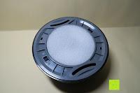 Rückseite: Lumen Basic schwarz ? Rauchmelder, ersetzt Ihr Sockel/Pavillon Luminaire (Noxe)