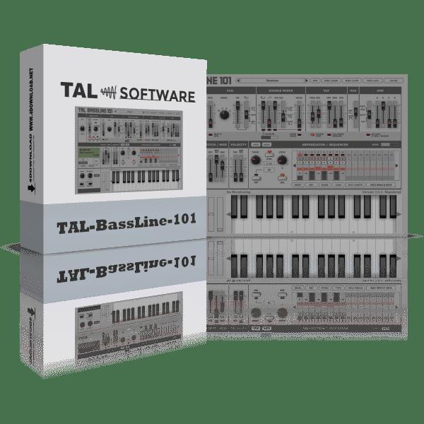 TAL-BassLine-101 v3.3.0 Full version