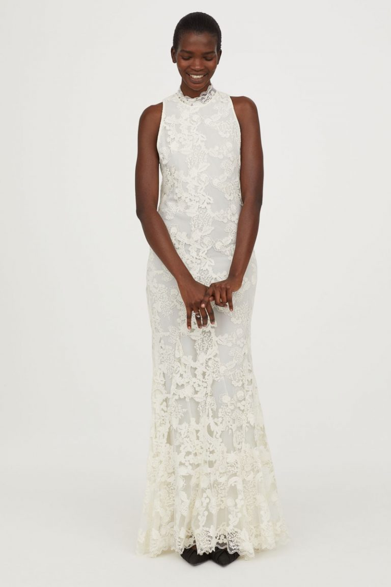 H&M Conscious Exclusive Long Lace Dress