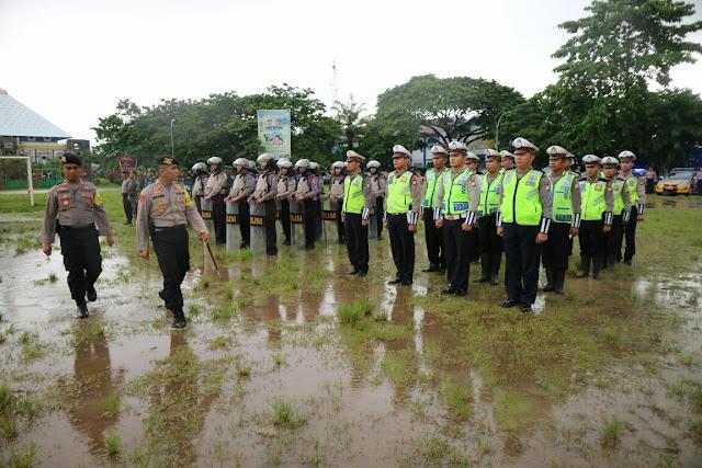 Polres Gowa Gelar Apel  Pasukan Operasi Lilin 2017