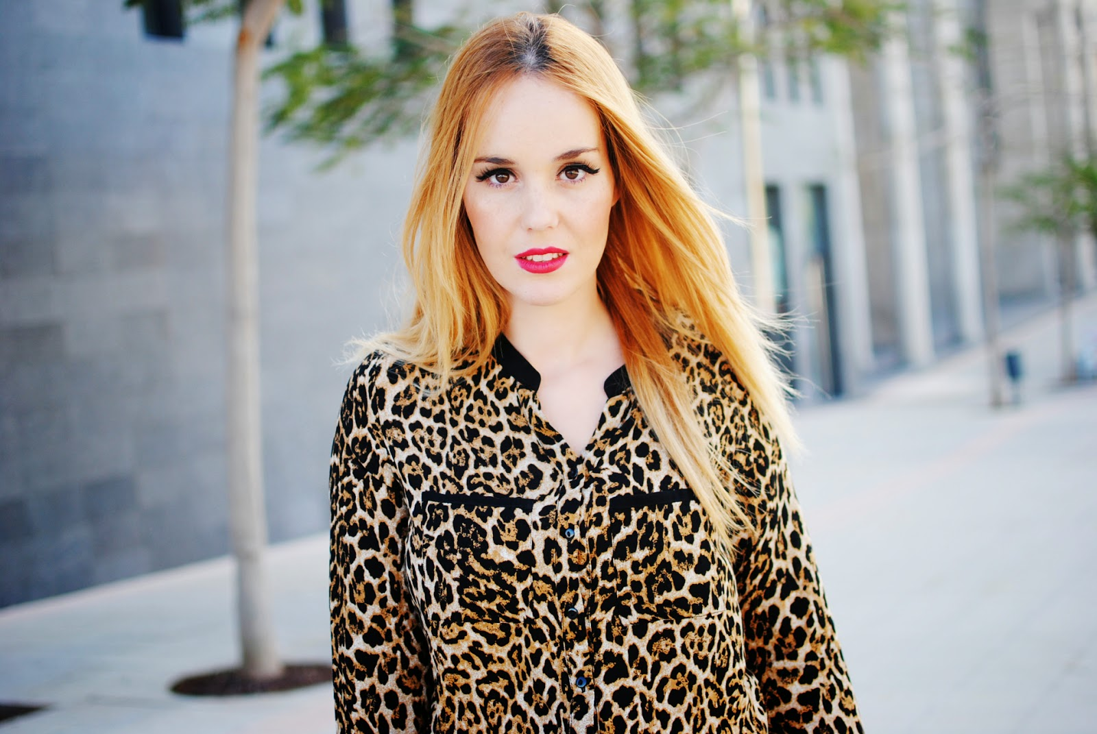 nery hdez, chicnova, print animal, estampado animal, estampado leopardo, mechas californianas, ombre hair