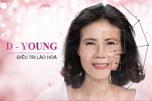 dieu tri lao hoa voi lieu trinh D Young