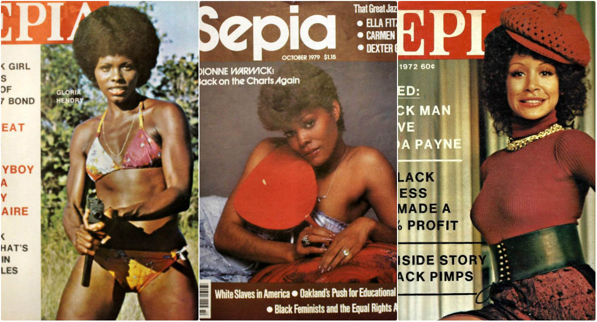 Sepia Magazine Covers From the 1970s