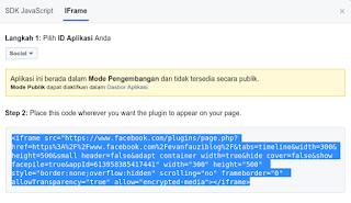 Copy code widget
