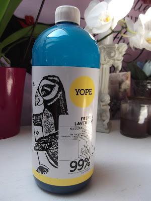 čistič na podlahy francúzska levanduľa Yope