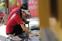 Bareng Komunitas #KejarMimpi, Sandra Dewi Tak Malu Lakukan Ini