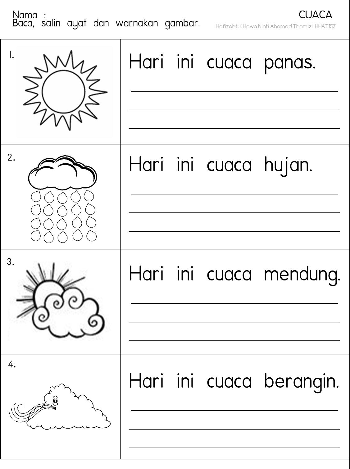 Cikgu Fieza Hhat157 Cuaca