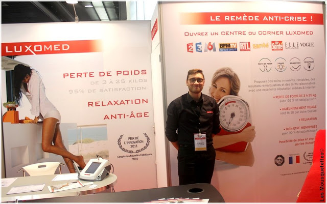 Beauty Forum Paris - Luxomed - Blog beauté Les Mousquetettes©