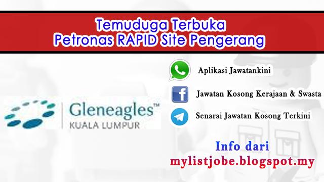 Jawatan Kosong di Petronas RAPID Site Pengerang