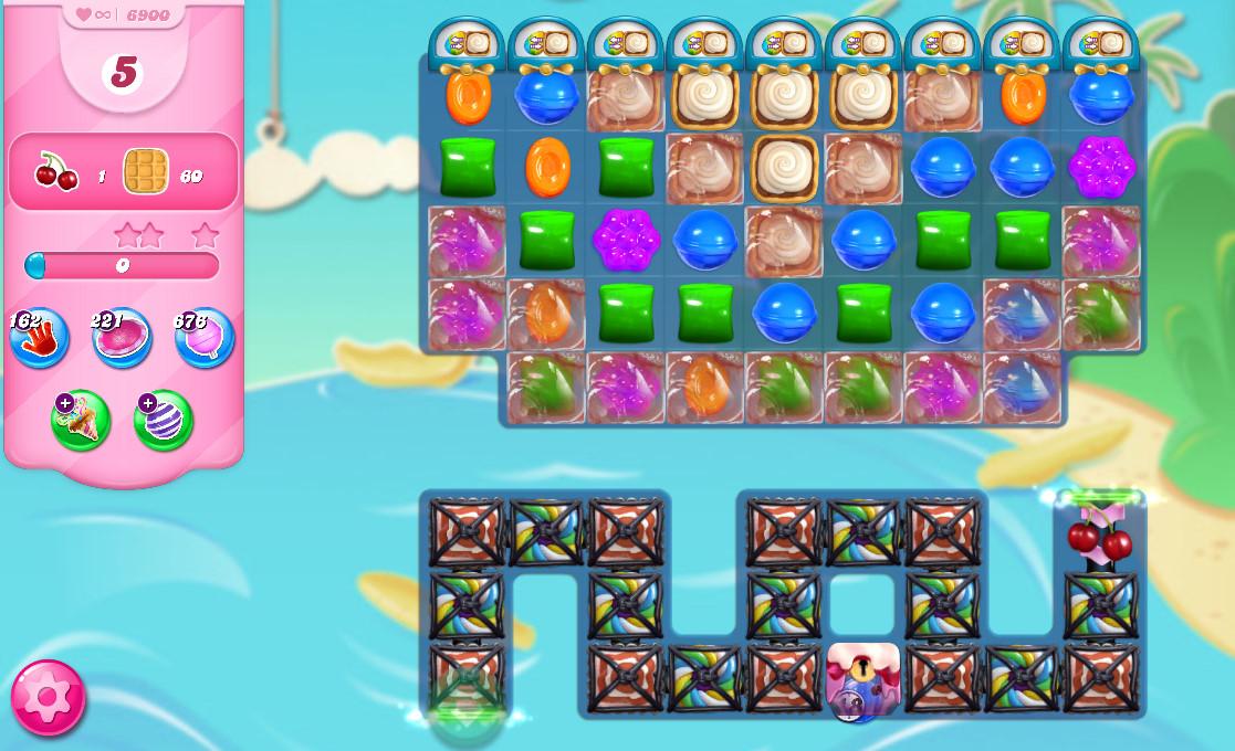 Candy Crush Saga level 6900