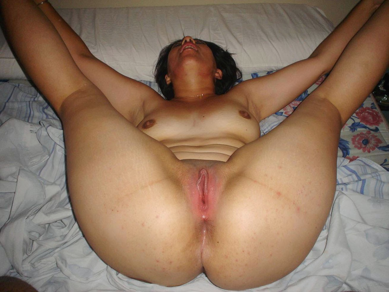 Cum flowing out orgasm