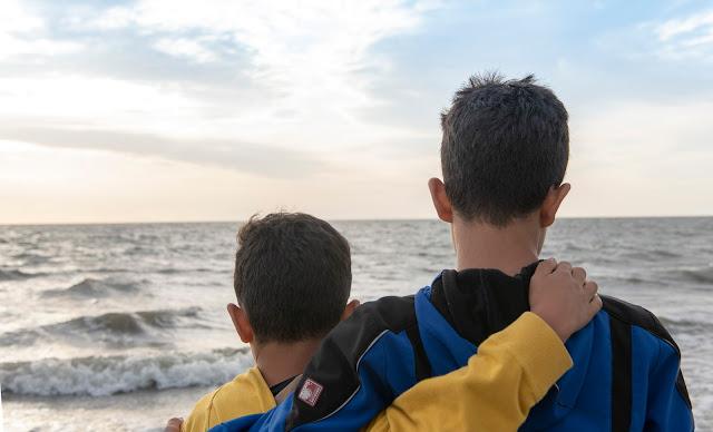Familienshooting Langeoog ... Flüchtlinge