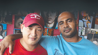 Andrew Chan, left, and Myuran Sukumaran
