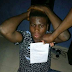 Young Man Caught With A Stolen Gucci Shirt And A Pair Of Slippers In Delta State