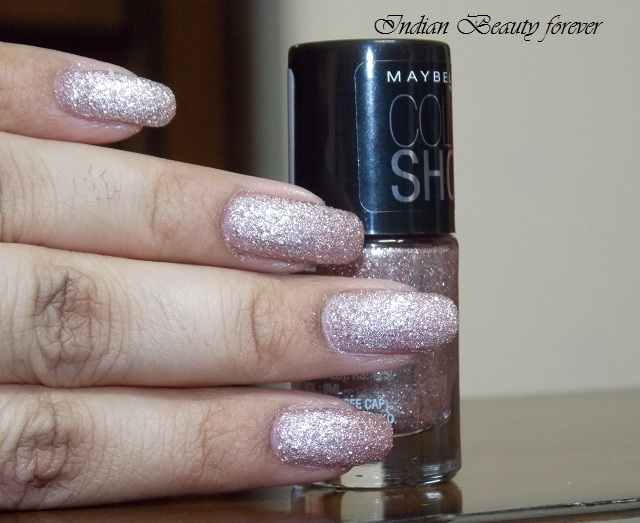 Maybelline Color Show Glitter Mania in Pink Champagne review