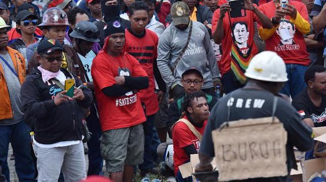 Menolak Lupa; Hampir Setahun Mogok Buruh Freeport