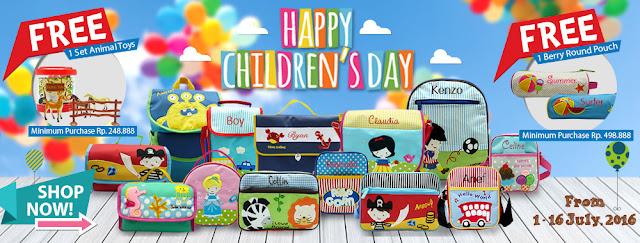 Promo Hari Anak Nasional Char&Coll