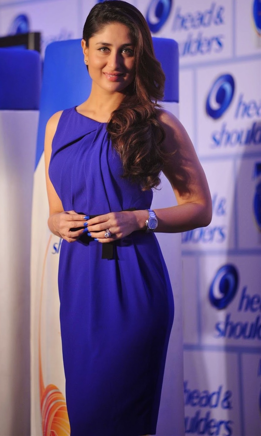 Kareena Kapoor Photos In Blue Dress