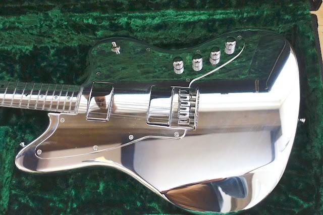 Electrical Guitar Company Jazzmaster Aluminum Guitar