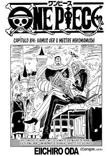 One Piece 814 Mangá Português leitura online