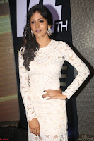 Chandini Chowdary in white Tight dress at Shamanthakamani pre release function ~  Exclusive 047.JPG