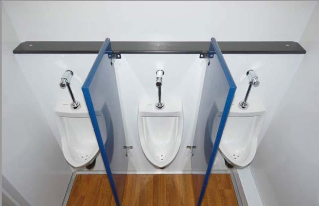 The Urinals in The Neptune