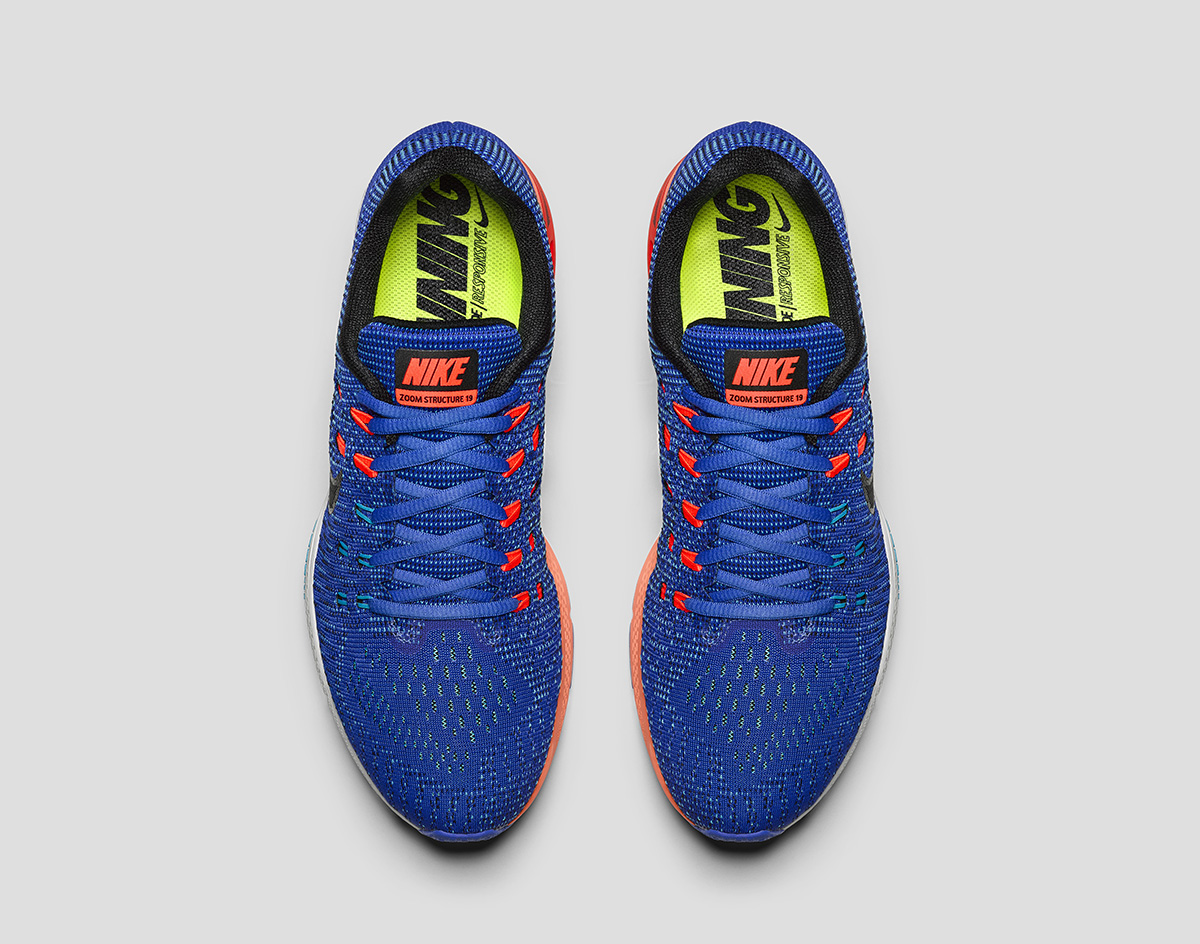 dac544e872b7 The Zoom Structure 19 delivers increased stability with highly responsive  cushioning with the Nike ...