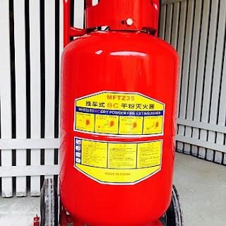 Bình chữa cháy bột BC MFZ 35kg
