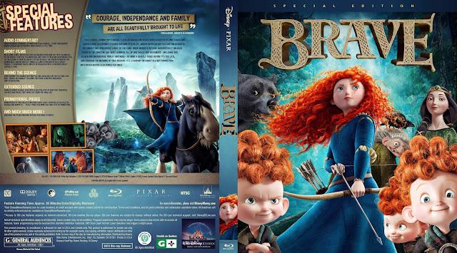 Brave Bluray Cover
