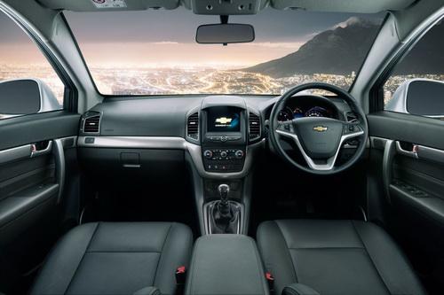 Interior Chevrolet Captiva 2016 Terbaru