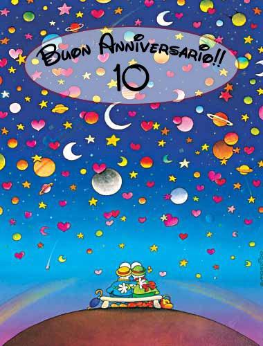 Auguri Anniversario Matrimonio 10 Anni.Spezie Per La Mente Buon Anniversario