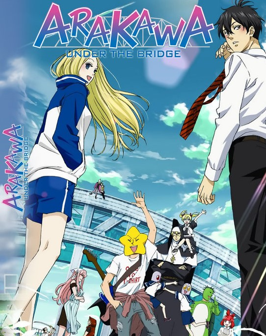 Arakawa Under the Bridge, Assistir Arakawa Under the Bridge Legendado, Arakawa Under the Bridge Online, Legendado, Assistir Arakawa Under the Bridge HD,