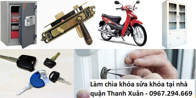 Dịch vụ sửa khóa tại nhà quận Thanh Xuân Hà Nội