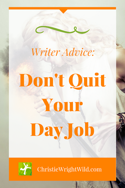Writer Tidbits || author advice | writing tips | conference notes | author wisdom | Don't quit your day job