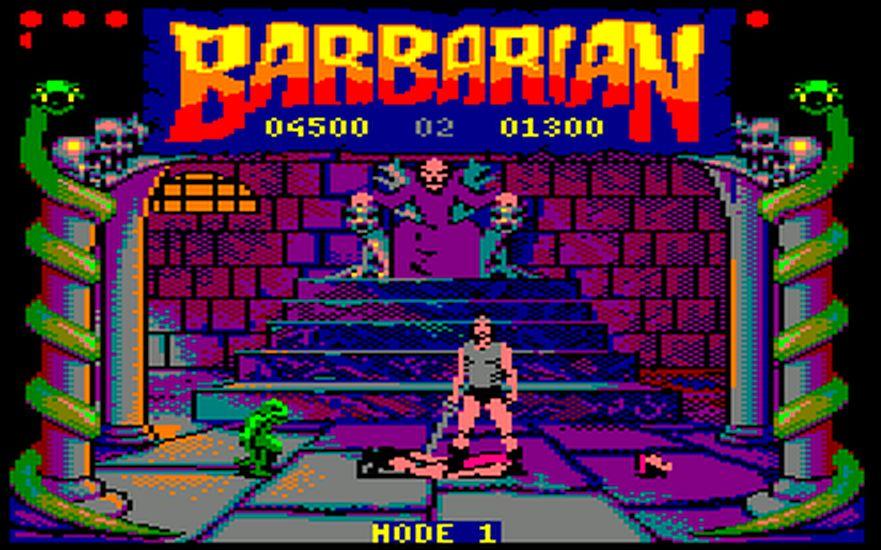 Indie Retro News: Barbarian CPC - Head chopping classic