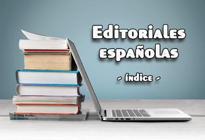 Índice de editoriales españolas