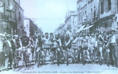 Départ du Challenge du Bon Vivant rue Carnot à Montceau