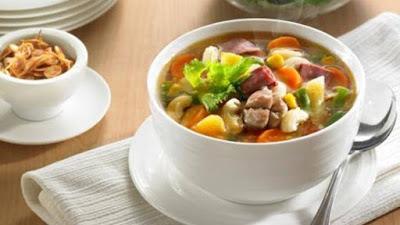 Resep Masakan Soup Nanas Makaroni Enak