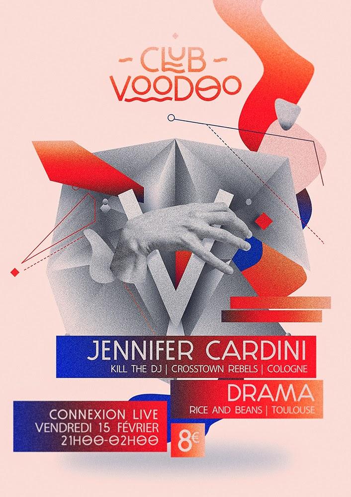 Damien Vignaux - Graphic Design - Club Voodoo