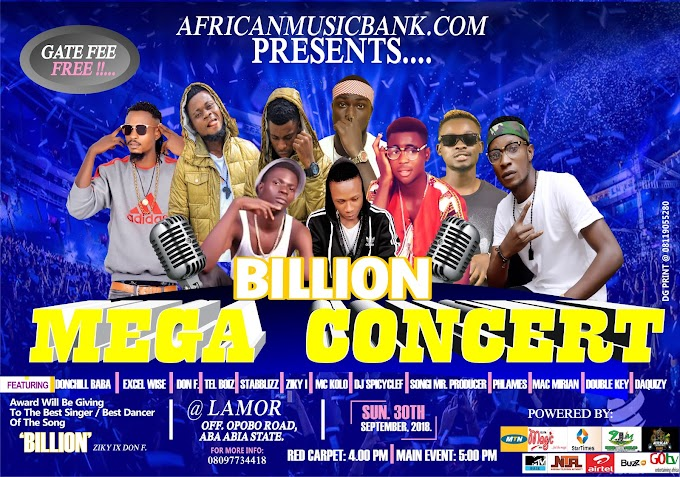"[Entertainment Gist]  Photos Of All The Confirmed Artistes,Dancers,Comedians and Djs That Will Perform Live On Stage On The ""Billion Mega Concert"""