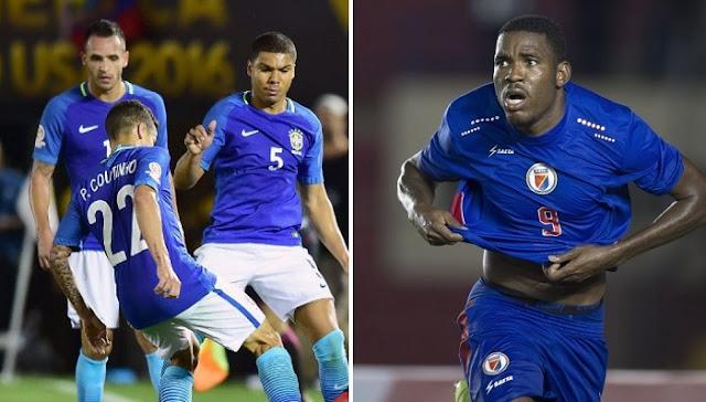 Brasil vs Haiti en vivo Copa America Centenario
