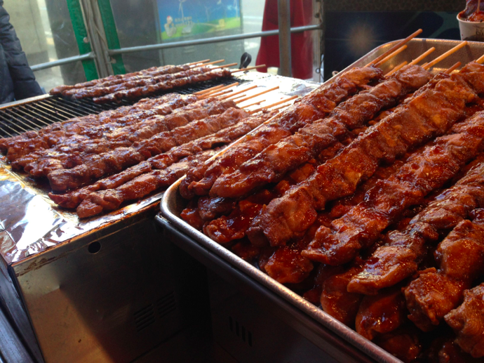Can you eat Korean street food?