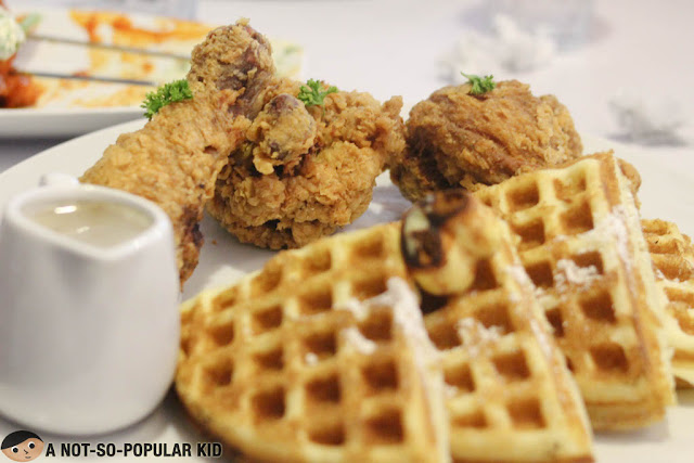 Buttermilk Chicken and Waffles